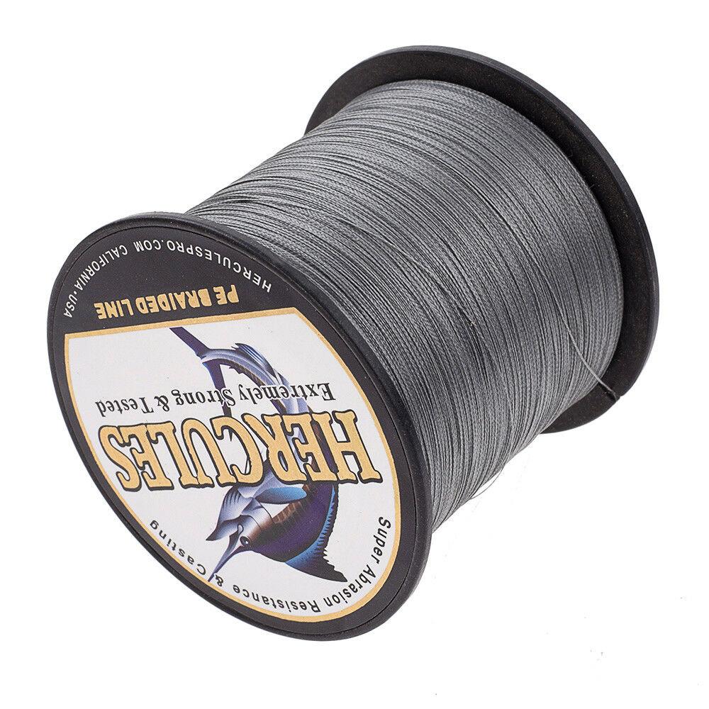 Hercules-1000M-1094-Yards-Weave-6lb-100lb-Test-4-Strands-PE-Braided-Fishing-Line thumbnail 48