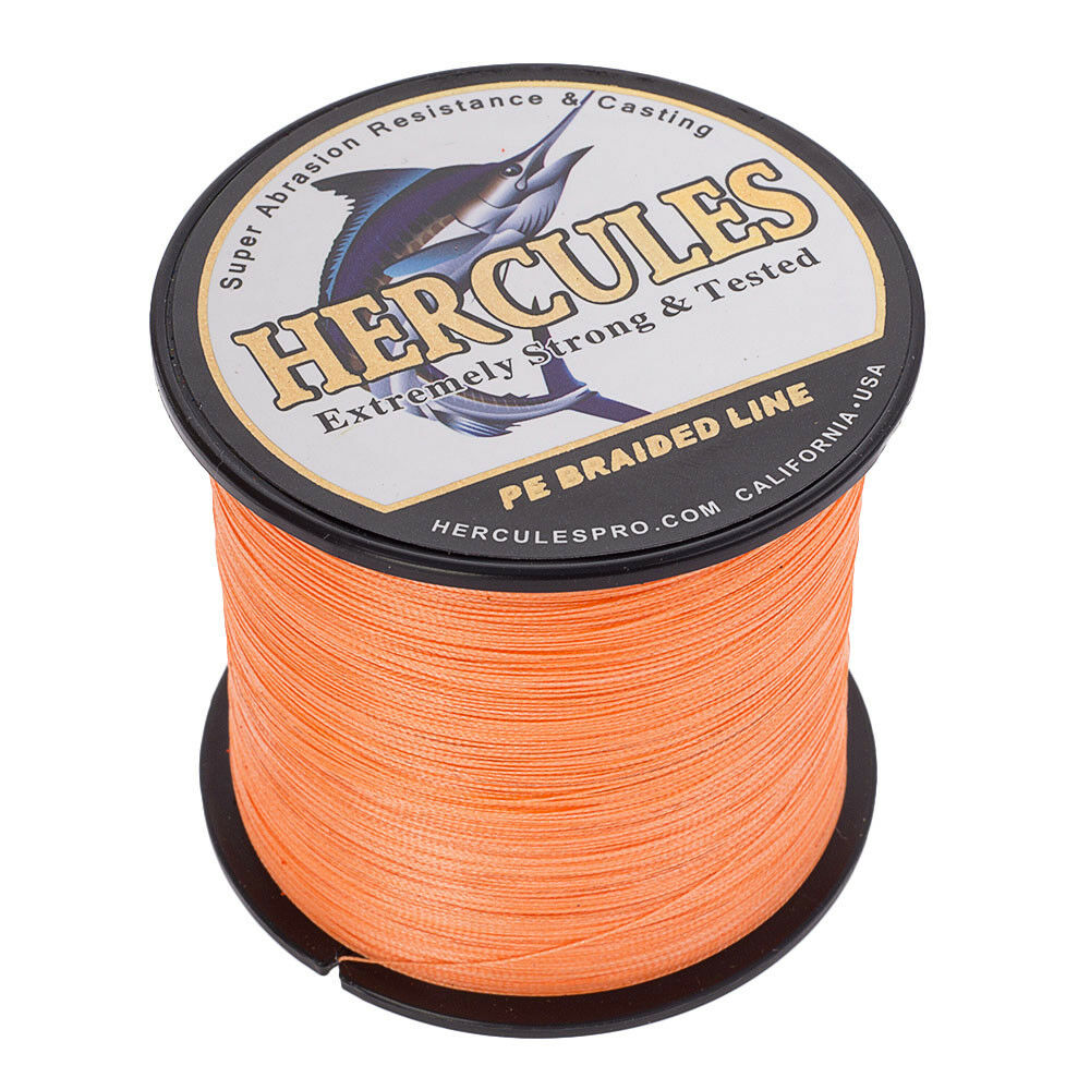 Hercules-1000M-1094-Yards-Weave-6lb-100lb-Test-4-Strands-PE-Braided-Fishing-Line thumbnail 63