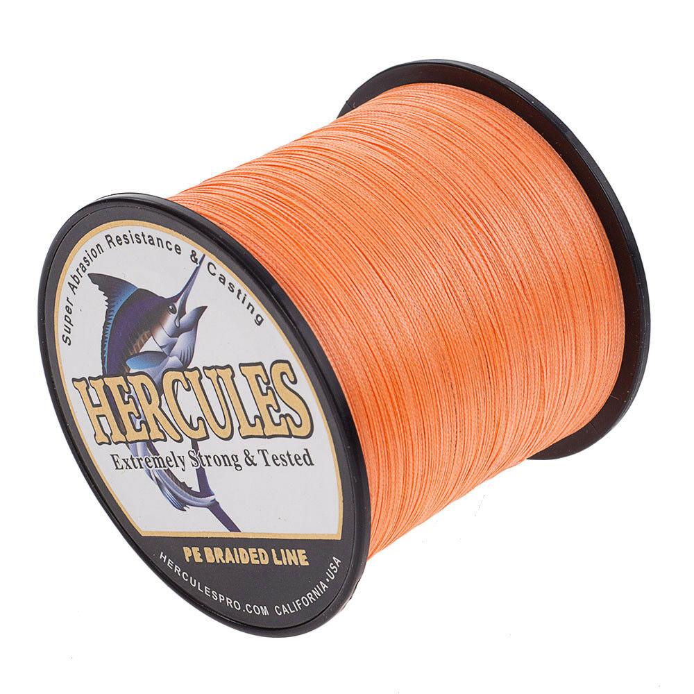 Hercules-1000M-1094-Yards-Weave-6lb-100lb-Test-4-Strands-PE-Braided-Fishing-Line thumbnail 66