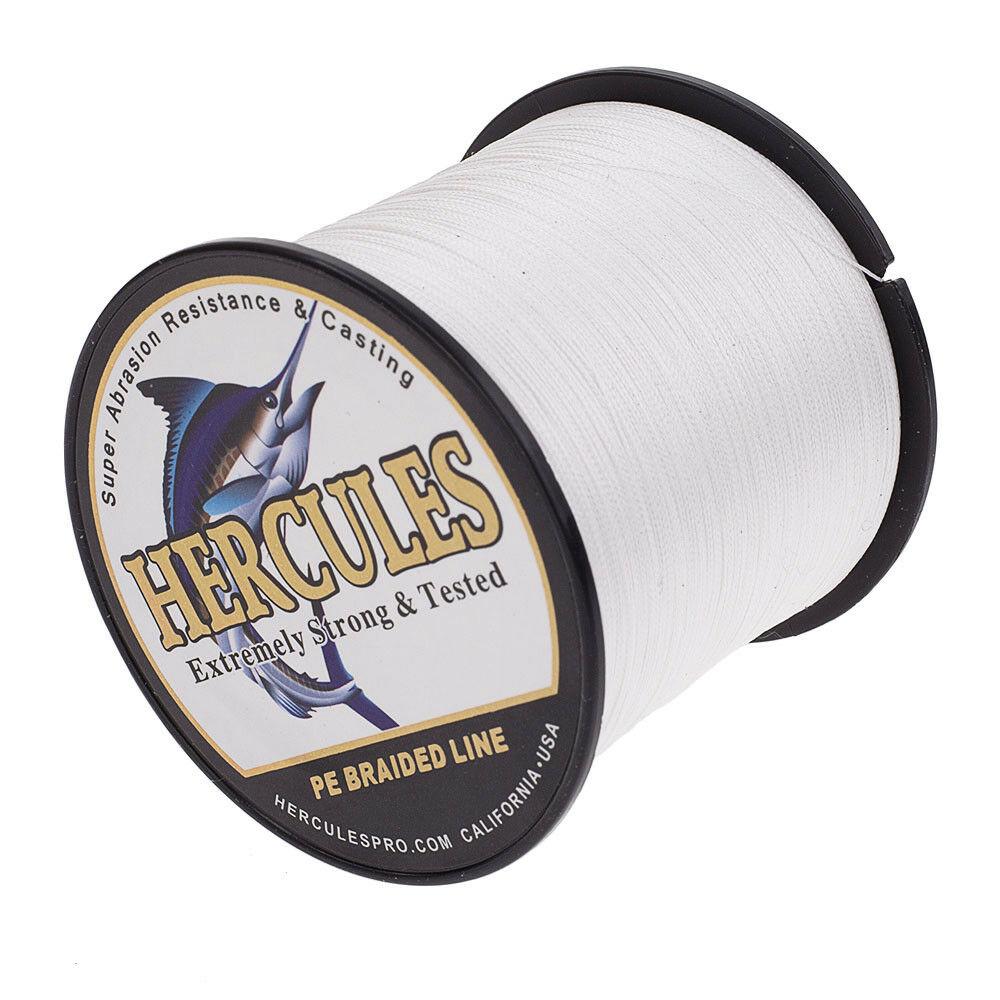 Hercules-1000M-1094-Yards-Weave-6lb-100lb-Test-4-Strands-PE-Braided-Fishing-Line thumbnail 84
