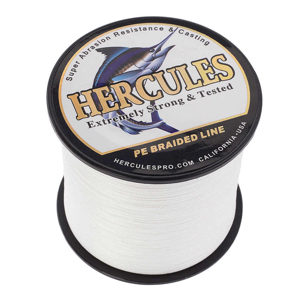 Hercules-1000M-1094-Yards-Weave-6lb-100lb-Test-4-Strands-PE-Braided-Fishing-Line thumbnail 81