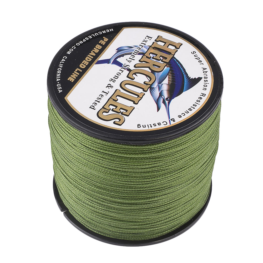 Braided-Fishing-Line-150lbs-8-Strands-PE-Hercules-100-300-500-1000-1500-2000M thumbnail 14