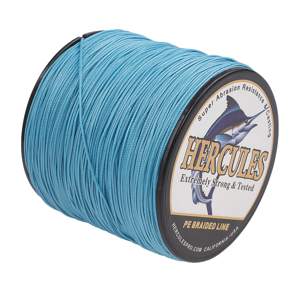 Braided-Fishing-Line-150lbs-8-Strands-PE-Hercules-100-300-500-1000-1500-2000M thumbnail 30
