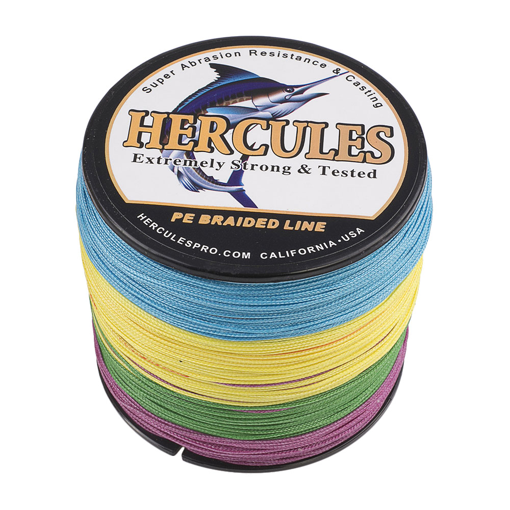 Braided-Fishing-Line-150lbs-8-Strands-PE-Hercules-100-300-500-1000-1500-2000M thumbnail 56