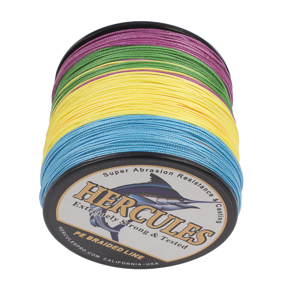 Braided-Fishing-Line-150lbs-8-Strands-PE-Hercules-100-300-500-1000-1500-2000M thumbnail 57