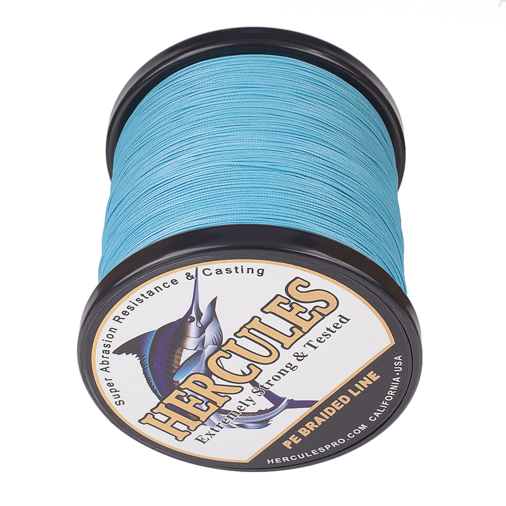 500M 547Yds 6LB-300LB Select Pound Test Hercules Braid Ice Fishing Line PE Trout