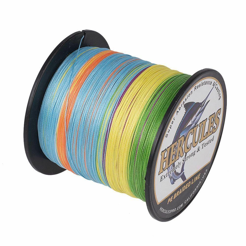 8-Strands-Color-Hercules-PE-Multicolor-Braided-Fishing-Line-100M-300M-500M-1000M miniature 24