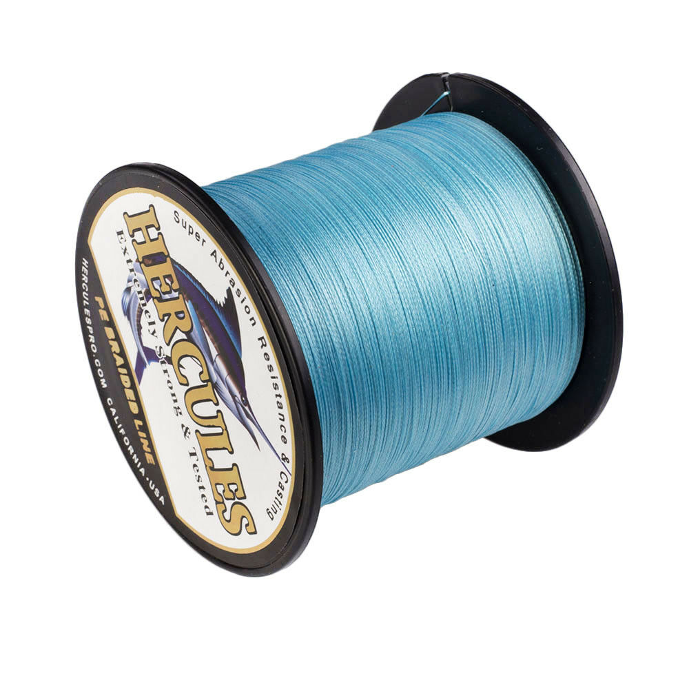 Hercules 60lbs Braided Fishing Line 328//547//1094Yds 4//8 Strands PE Weave Tackle