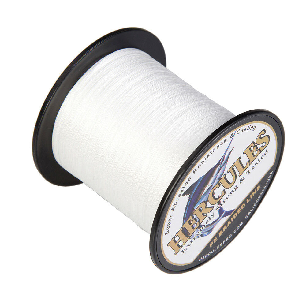 Hercules-300-500-1000m-Black-White-Gray-PE-Weave-Extreme-Braided-Fishing-Line thumbnail 22