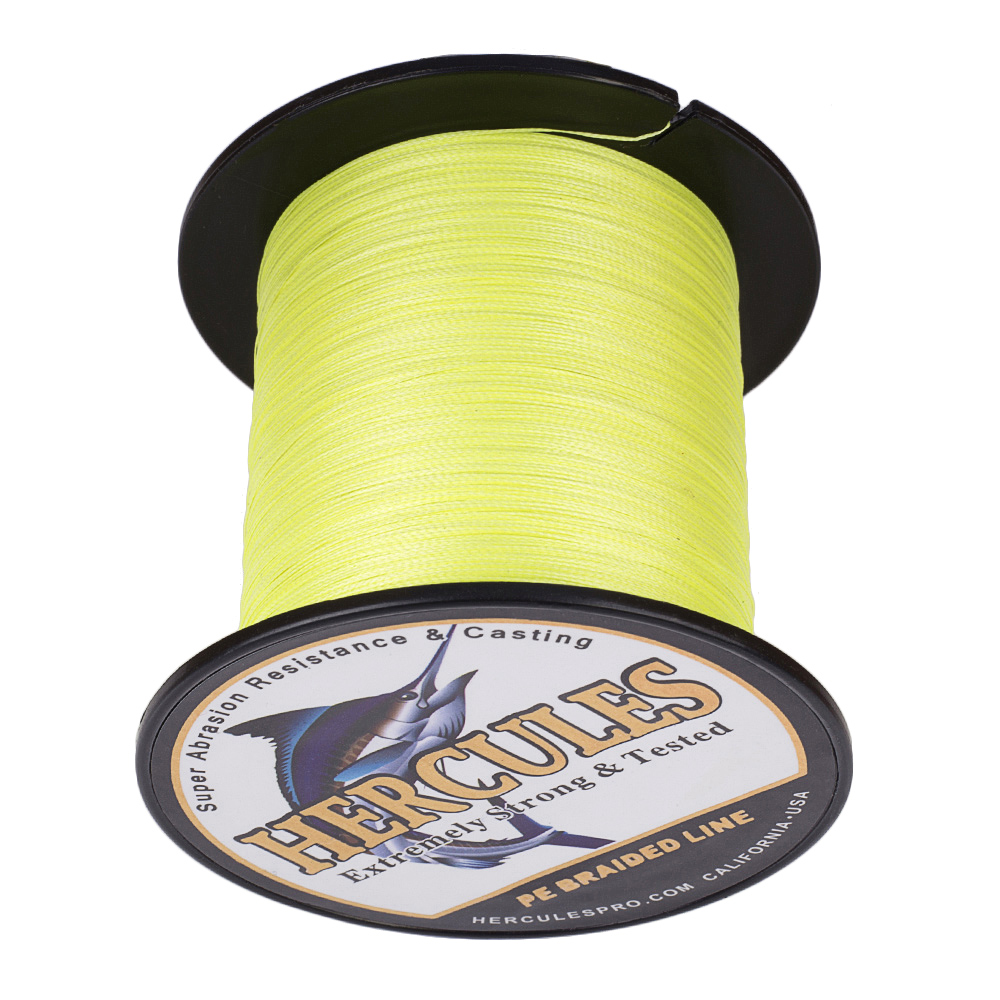 Braided-Fishing-Line-PE-20lbs-Hercules-4-8-Strands-Extreme miniature 50