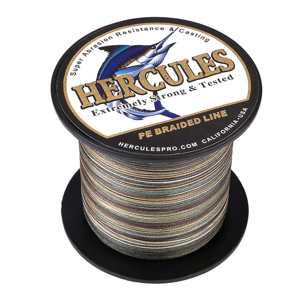 Braided-Fishing-Line-PE-20lbs-Hercules-4-8-Strands-Extreme miniature 39