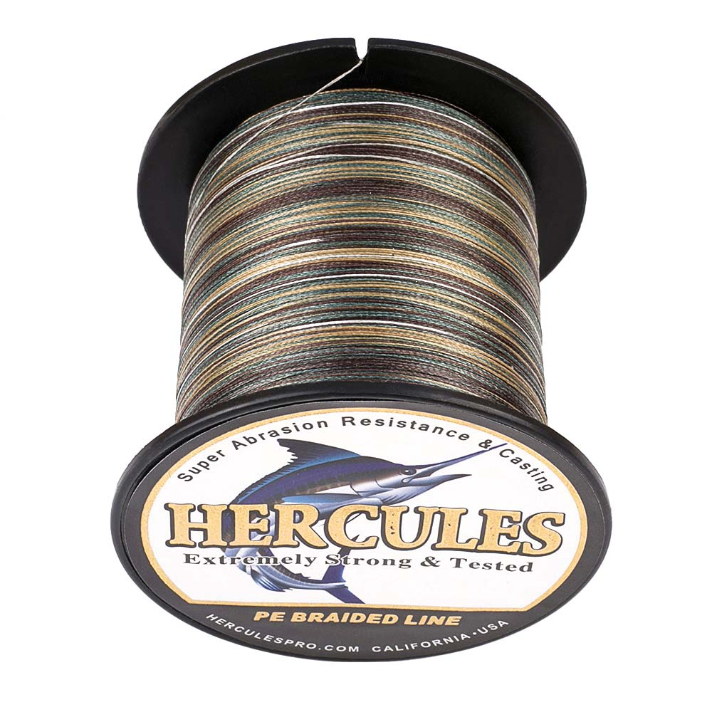 Braided-Fishing-Line-PE-20lbs-Hercules-4-8-Strands-Extreme miniature 38