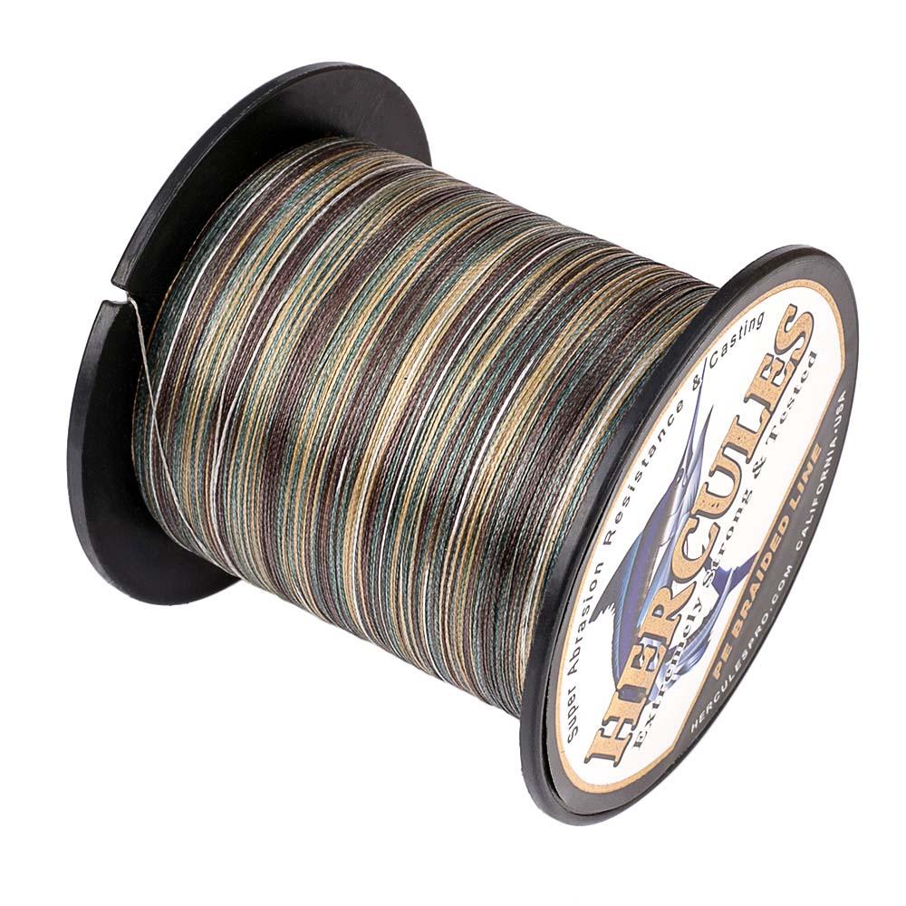 Braided-Fishing-Line-PE-20lbs-Hercules-4-8-Strands-Extreme miniature 42
