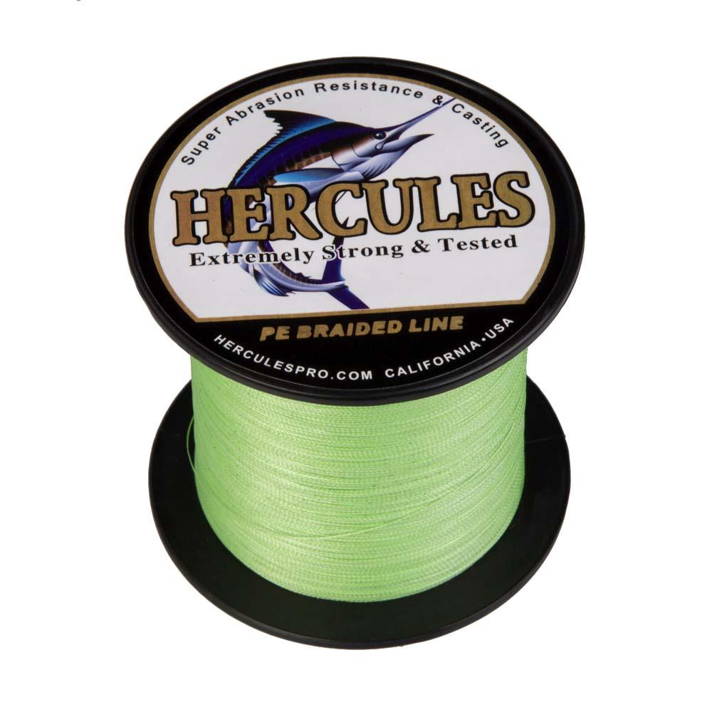 Braided-Fishing-Line-PE-20lbs-Hercules-4-8-Strands-Extreme miniature 45