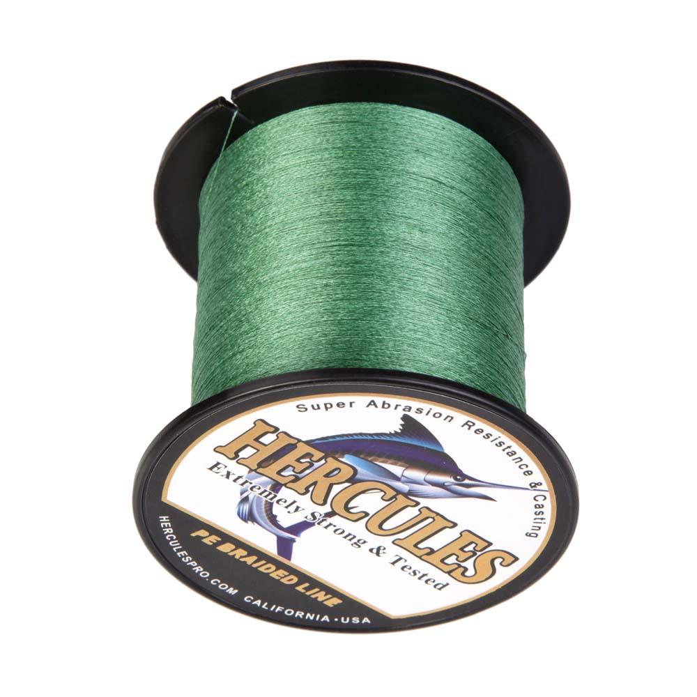 Braided-Fishing-Line-PE-20lbs-Hercules-4-8-Strands-Extreme miniature 62