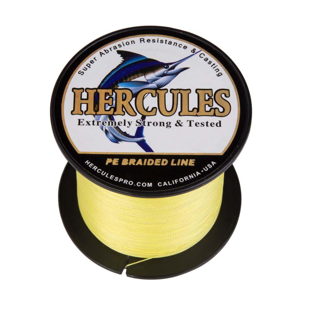 Braided-Fishing-Line-PE-20lbs-Hercules-4-8-Strands-Extreme miniature 99