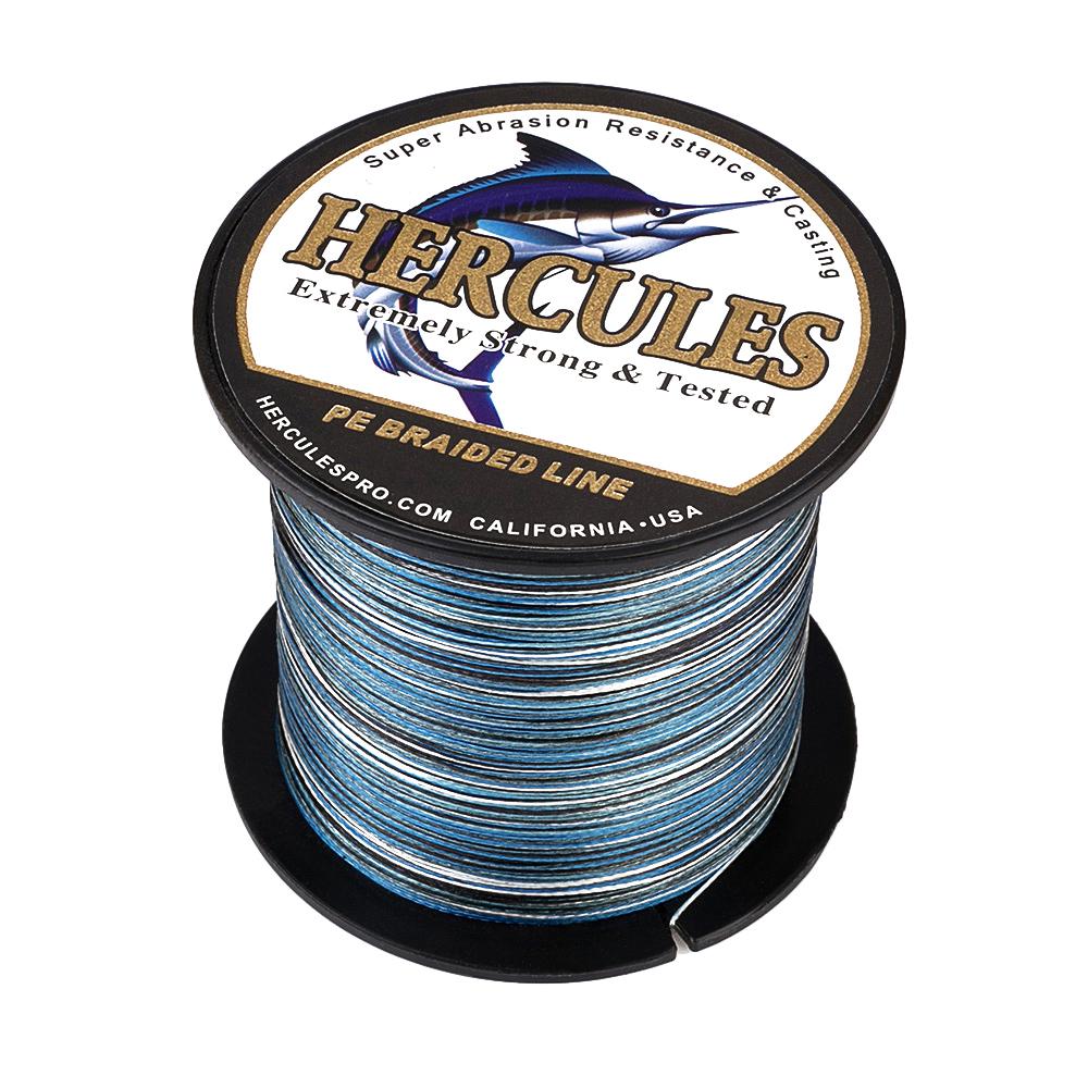 Braided-Fishing-Line-PE-20lbs-Hercules-4-8-Strands-Extreme miniature 33