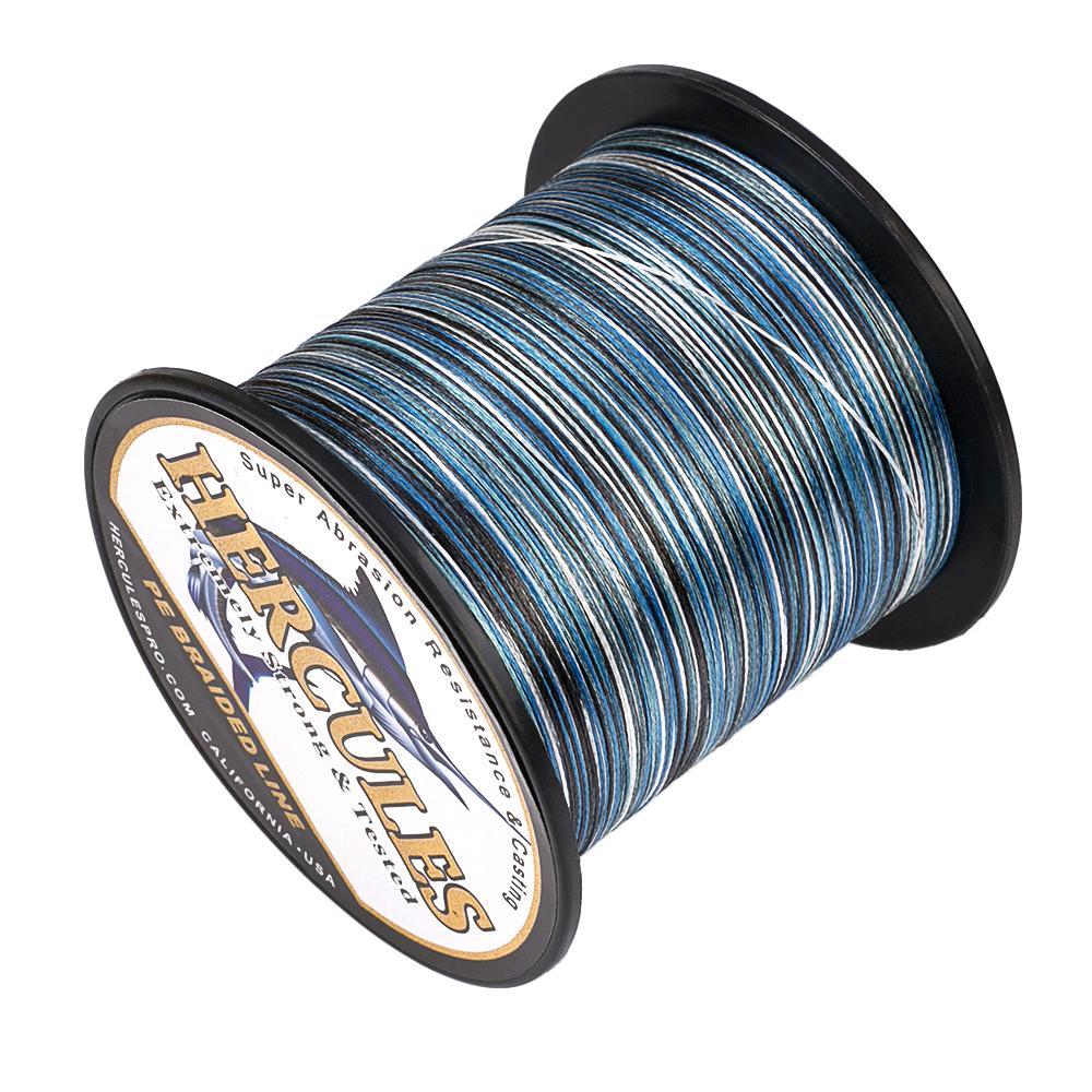 Braided-Fishing-Line-PE-20lbs-Hercules-4-8-Strands-Extreme miniature 35