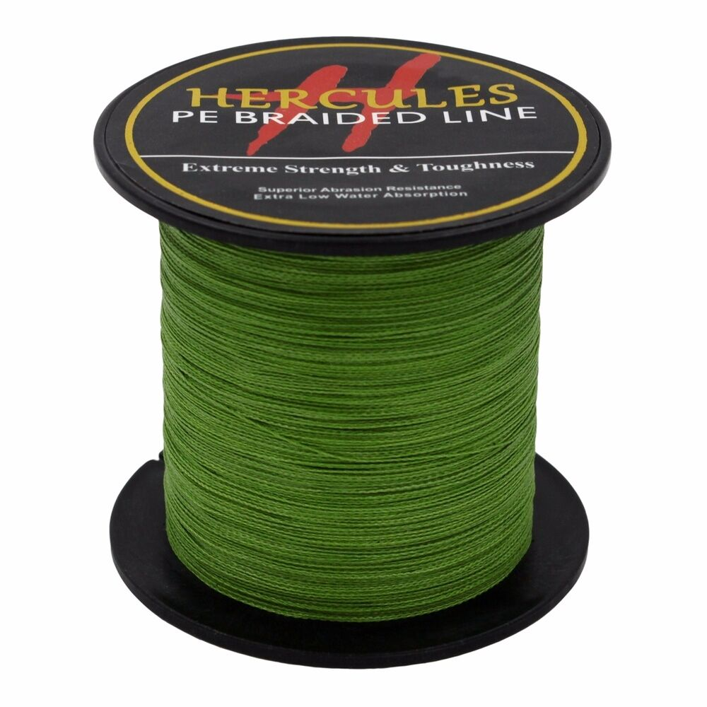 Hercules-6lb-8lb-100-PE-Strong-Braid-Fishing-Line-SuperPower-Extreme-4-Strands thumbnail 3