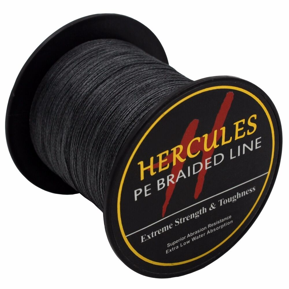Hercules-6lb-8lb-100-PE-Strong-Braid-Fishing-Line-SuperPower-Extreme-4-Strands thumbnail 25
