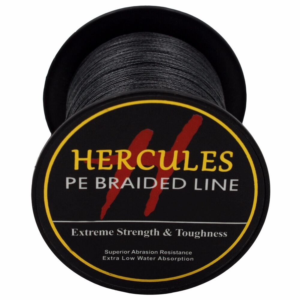 Hercules-6lb-8lb-100-PE-Strong-Braid-Fishing-Line-SuperPower-Extreme-4-Strands thumbnail 16