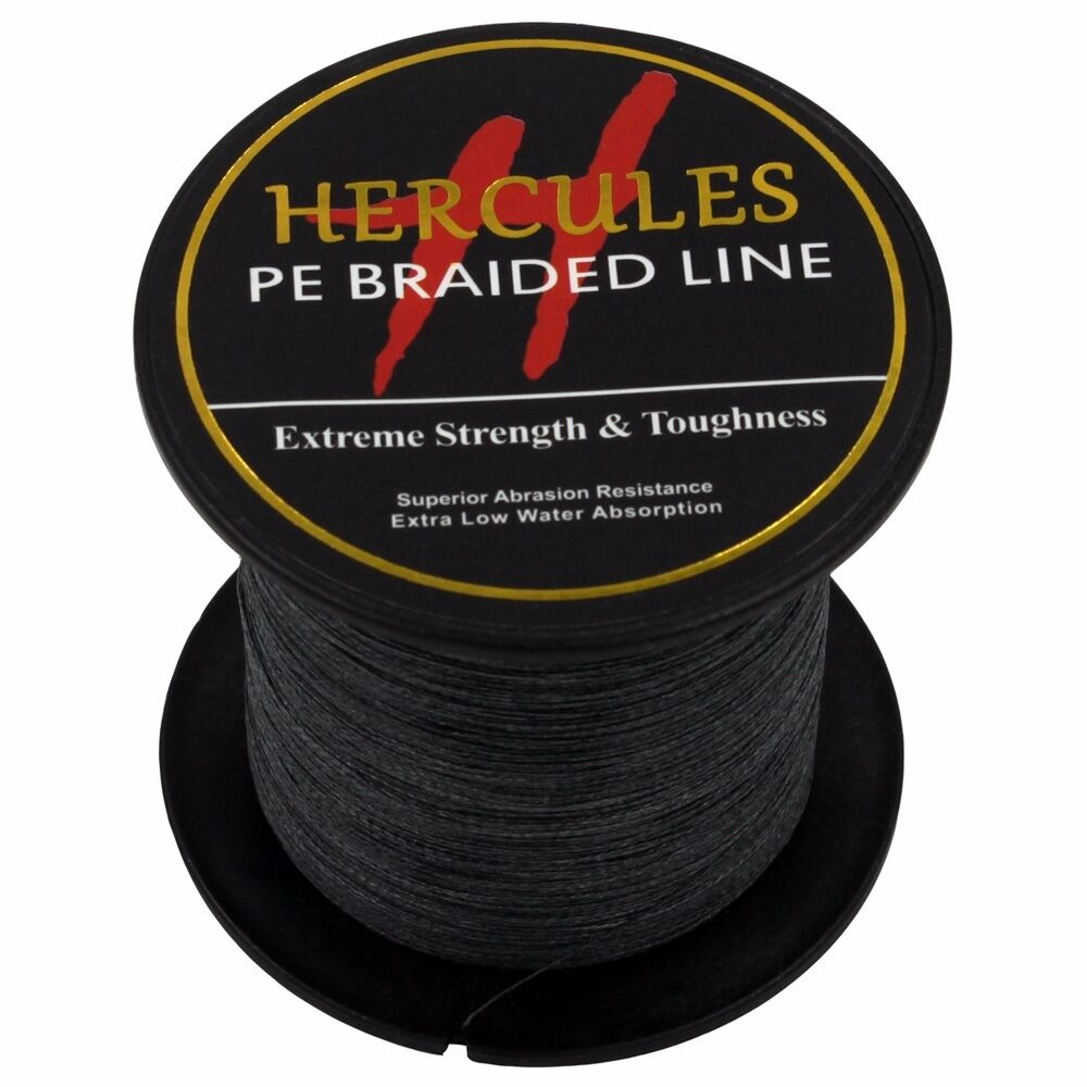 Hercules-6lb-8lb-100-PE-Strong-Braid-Fishing-Line-SuperPower-Extreme-4-Strands thumbnail 22