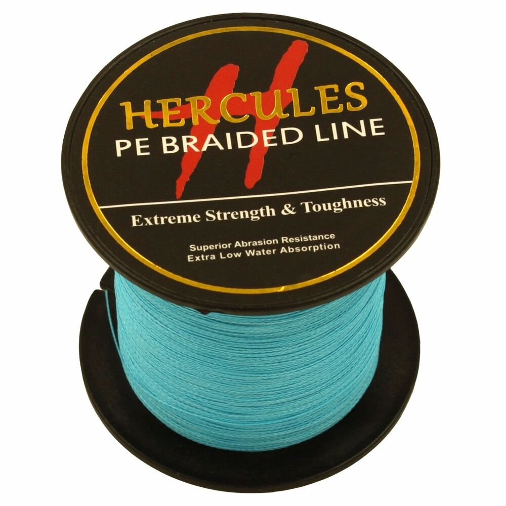 Hercules-6lb-8lb-100-PE-Strong-Braid-Fishing-Line-SuperPower-Extreme-4-Strands thumbnail 34