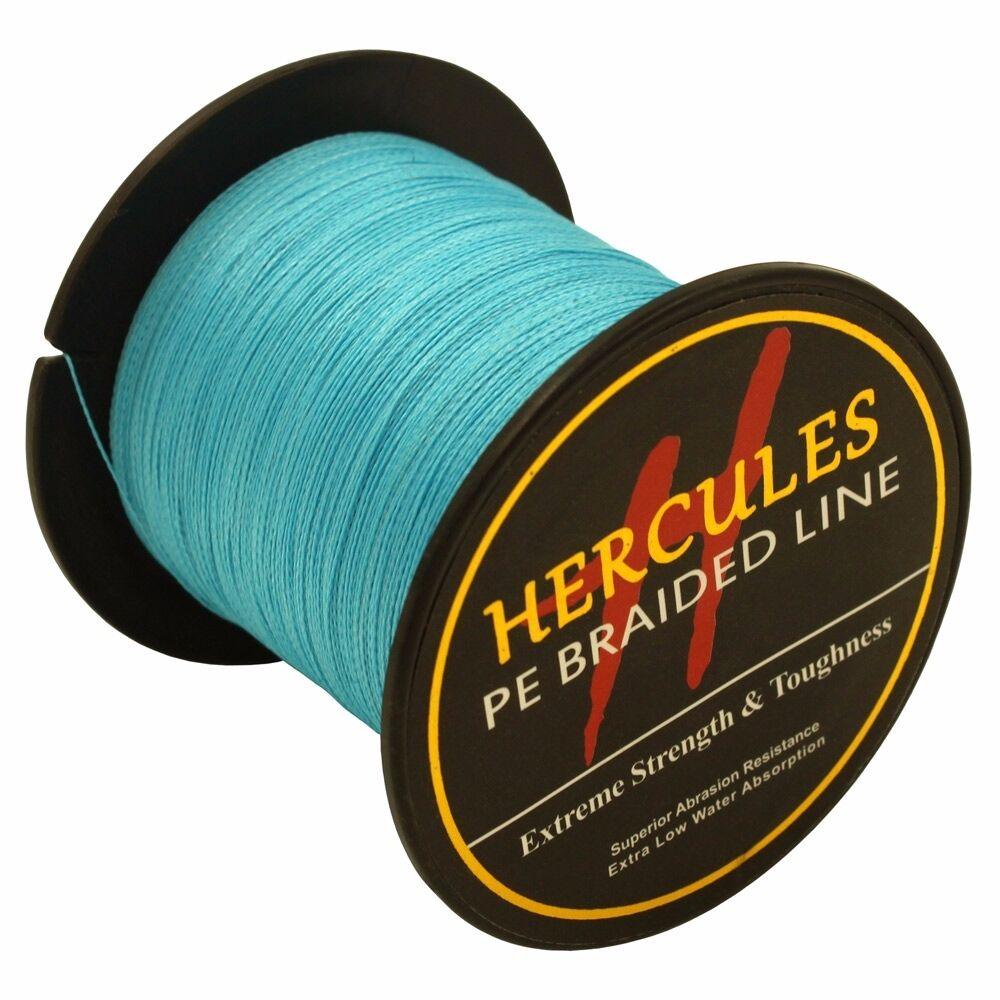 Hercules-6lb-8lb-100-PE-Strong-Braid-Fishing-Line-SuperPower-Extreme-4-Strands thumbnail 37