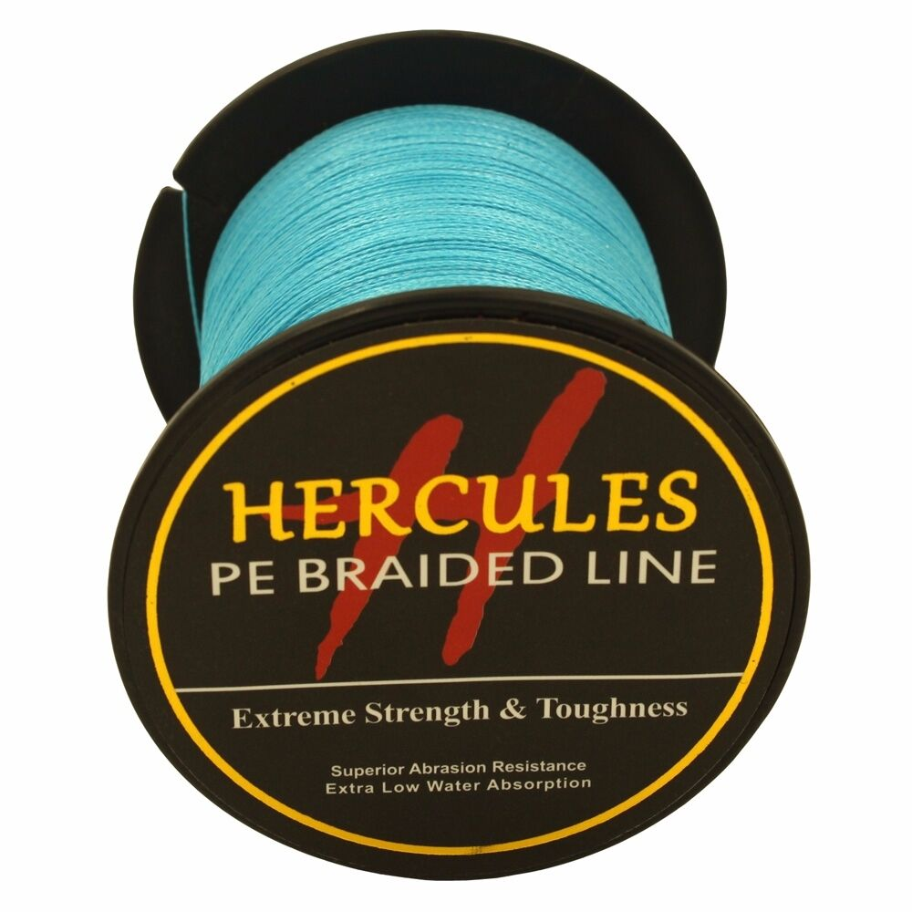 Hercules-6lb-8lb-100-PE-Strong-Braid-Fishing-Line-SuperPower-Extreme-4-Strands thumbnail 36