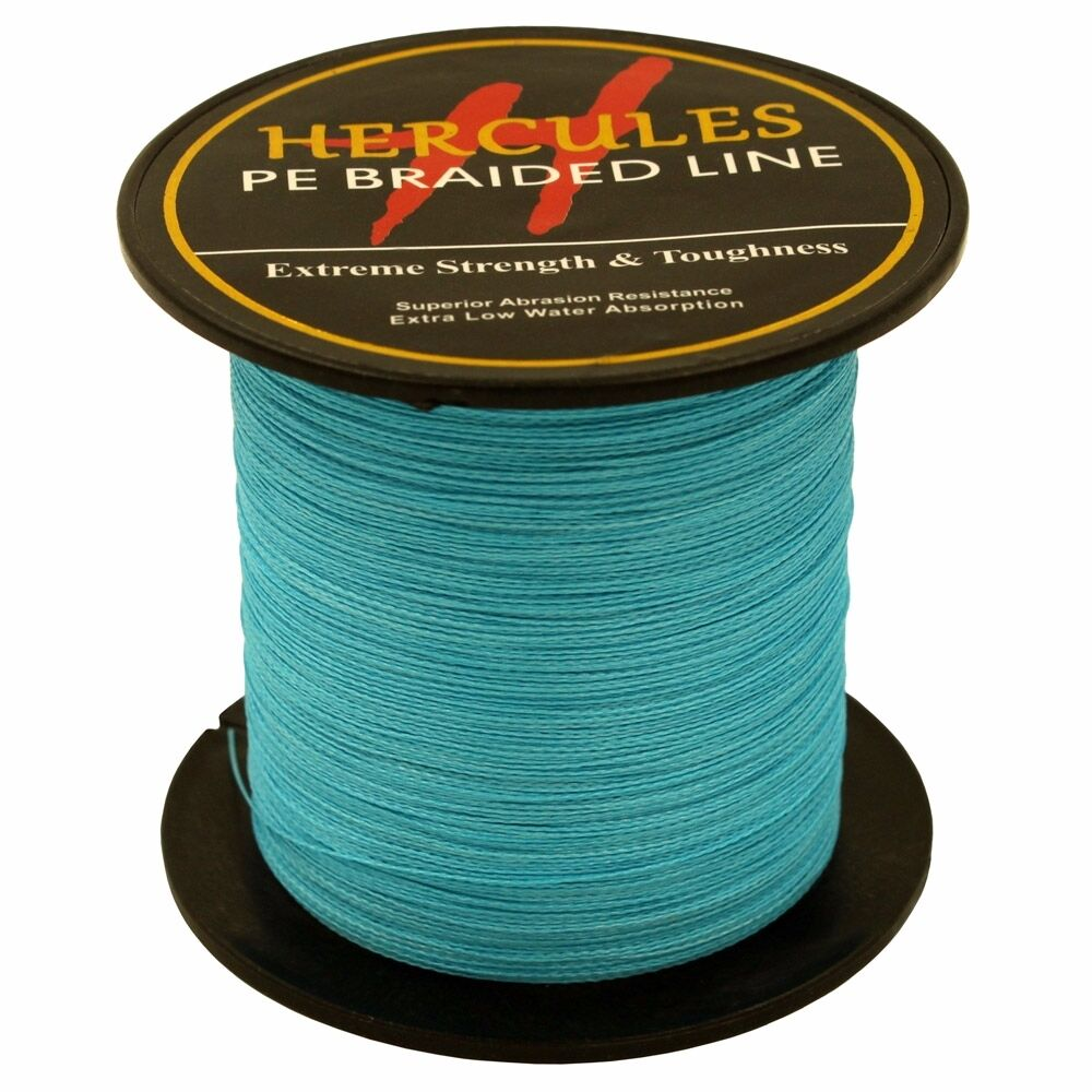 Hercules-6lb-8lb-100-PE-Strong-Braid-Fishing-Line-SuperPower-Extreme-4-Strands thumbnail 27