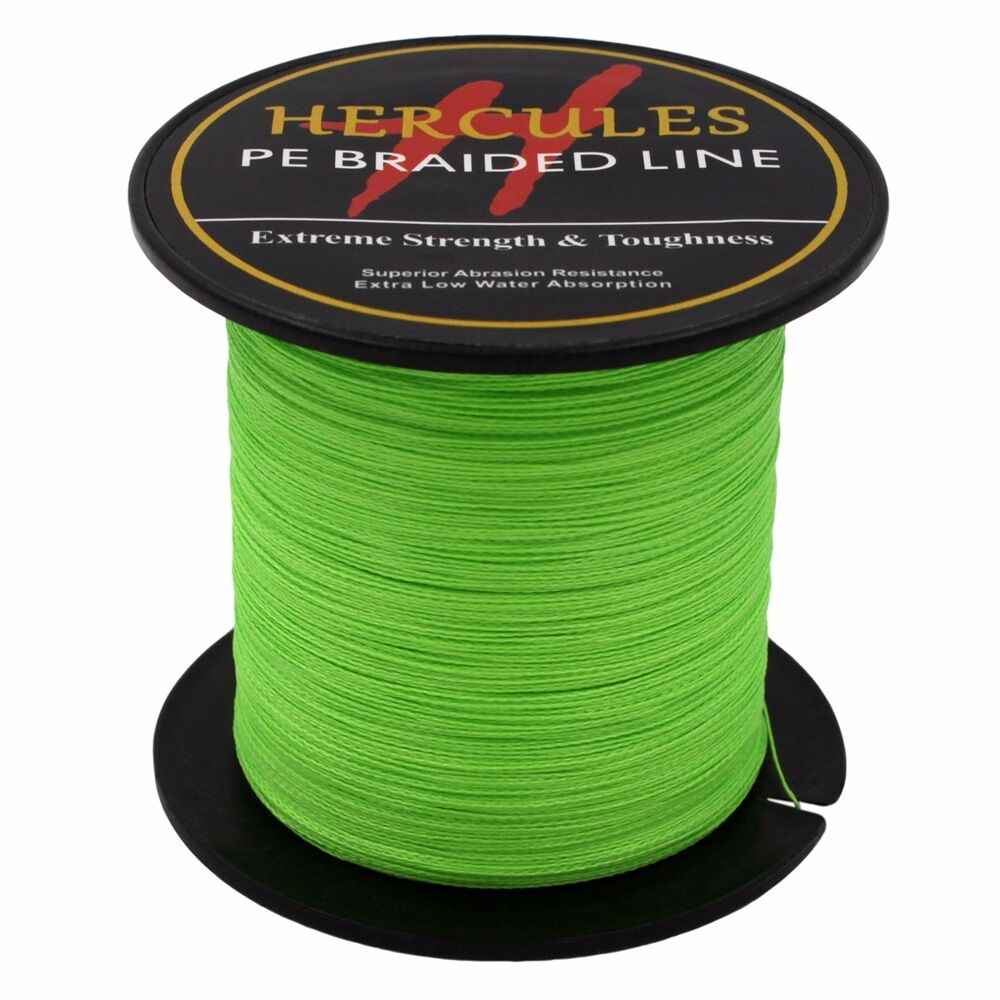 Hercules-6lb-8lb-100-PE-Strong-Braid-Fishing-Line-SuperPower-Extreme-4-Strands thumbnail 47