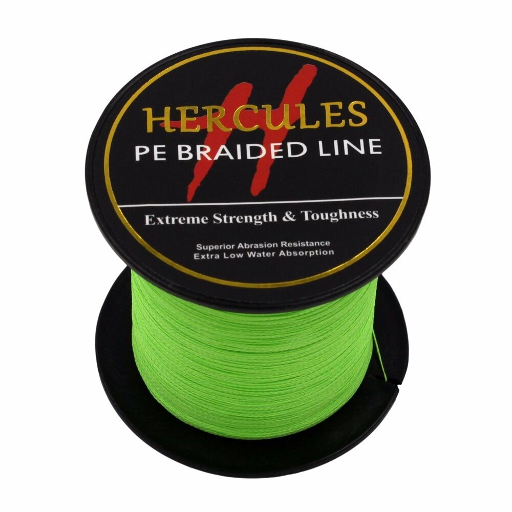 Hercules-6lb-8lb-100-PE-Strong-Braid-Fishing-Line-SuperPower-Extreme-4-Strands thumbnail 46