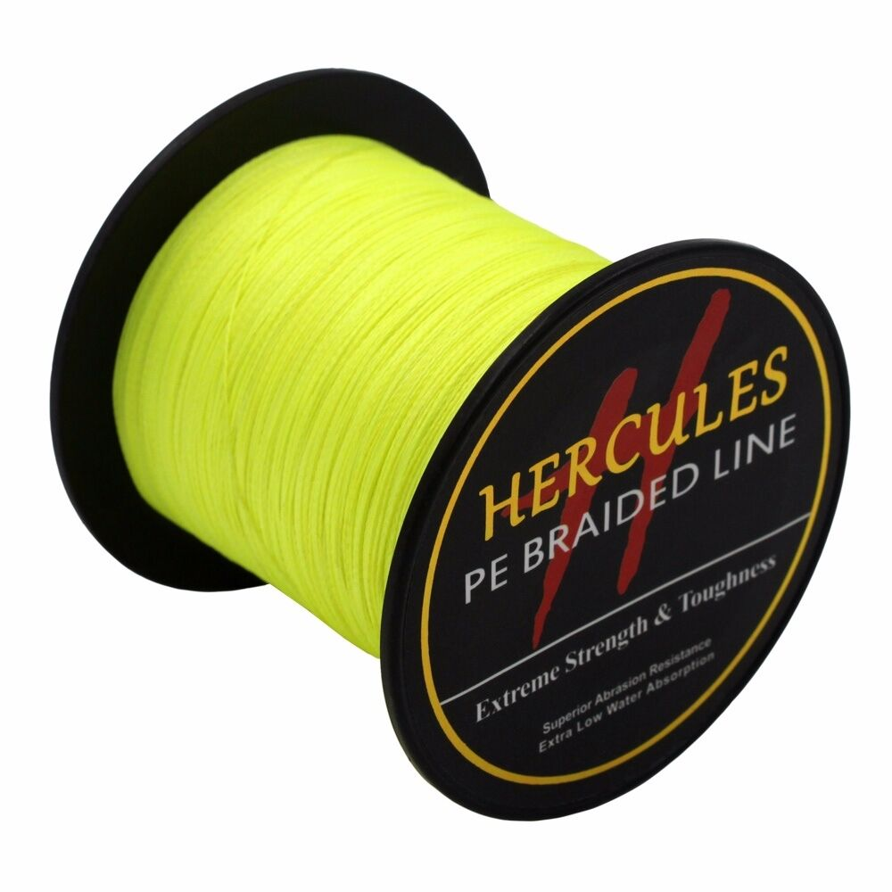 Hercules-6lb-8lb-100-PE-Strong-Braid-Fishing-Line-SuperPower-Extreme-4-Strands thumbnail 53