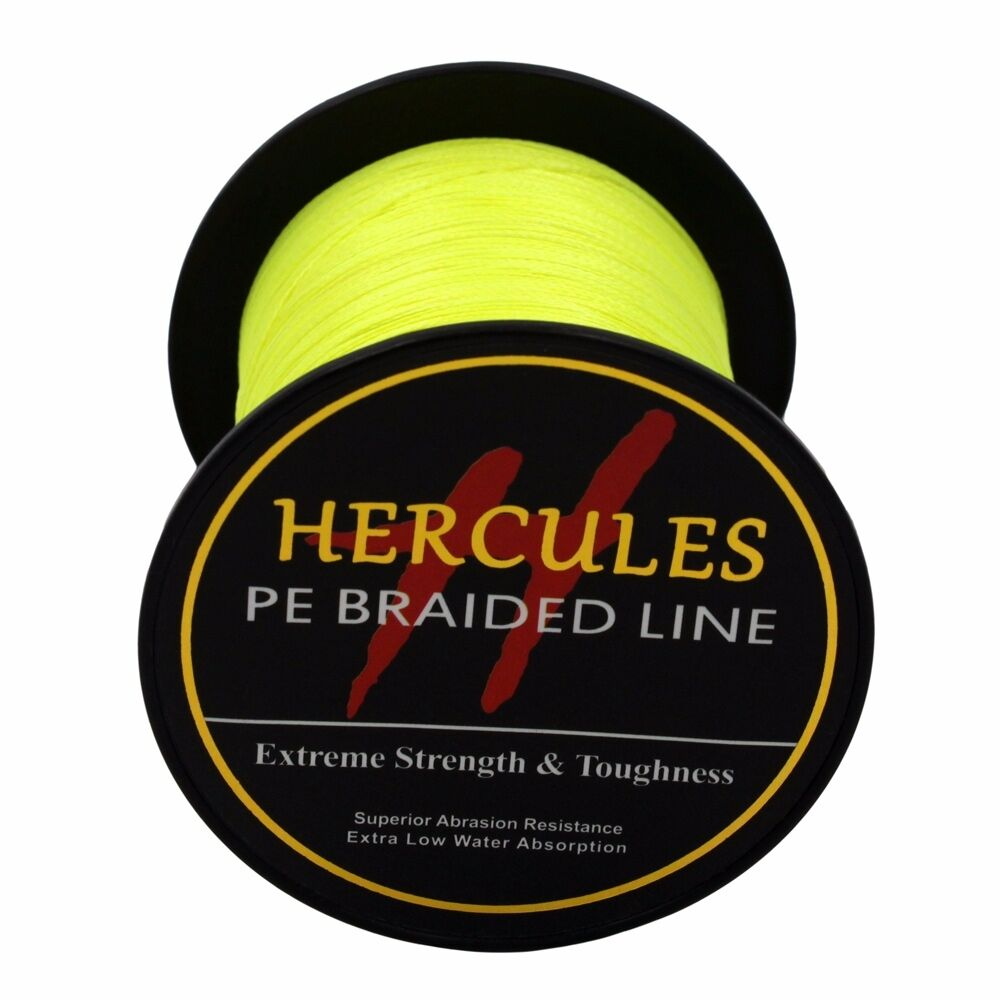 Hercules-6lb-8lb-100-PE-Strong-Braid-Fishing-Line-SuperPower-Extreme-4-Strands thumbnail 52