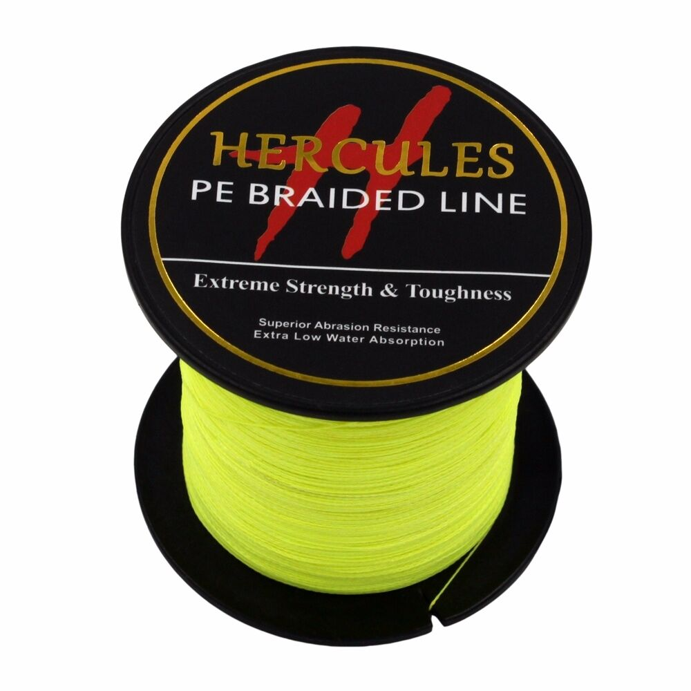 Hercules-6lb-8lb-100-PE-Strong-Braid-Fishing-Line-SuperPower-Extreme-4-Strands thumbnail 58