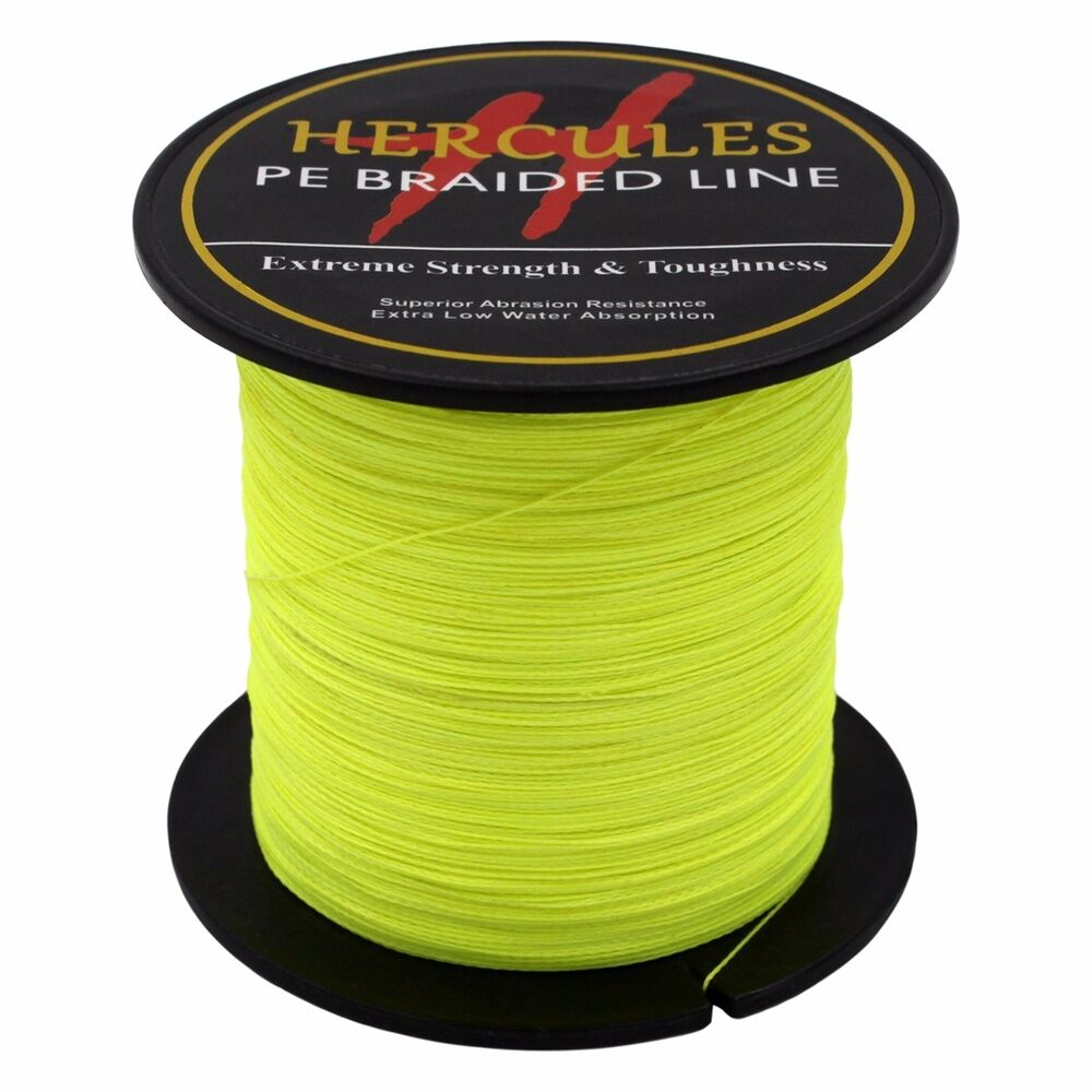 Hercules-6lb-8lb-100-PE-Strong-Braid-Fishing-Line-SuperPower-Extreme-4-Strands thumbnail 59