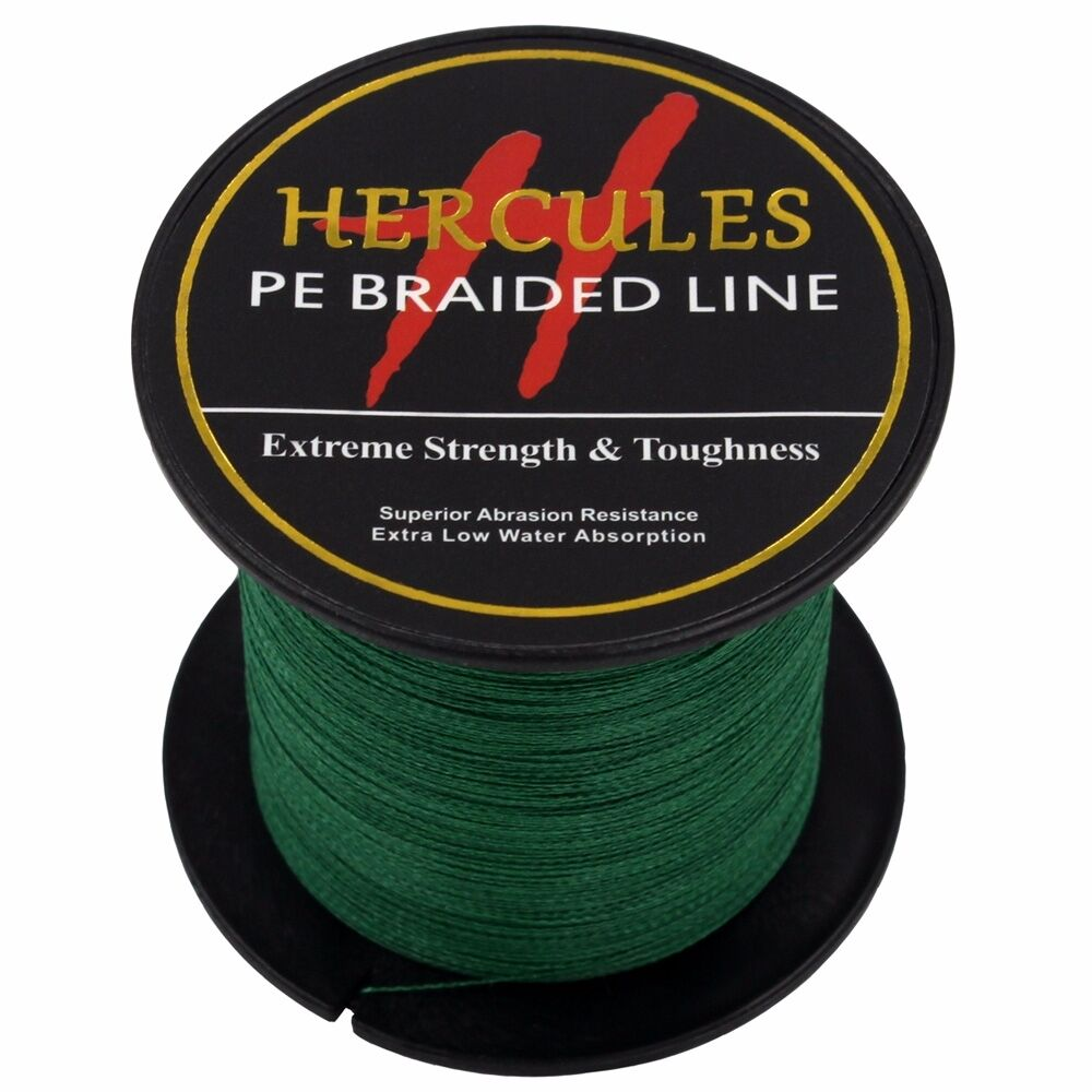 Hercules-6lb-8lb-100-PE-Strong-Braid-Fishing-Line-SuperPower-Extreme-4-Strands thumbnail 82