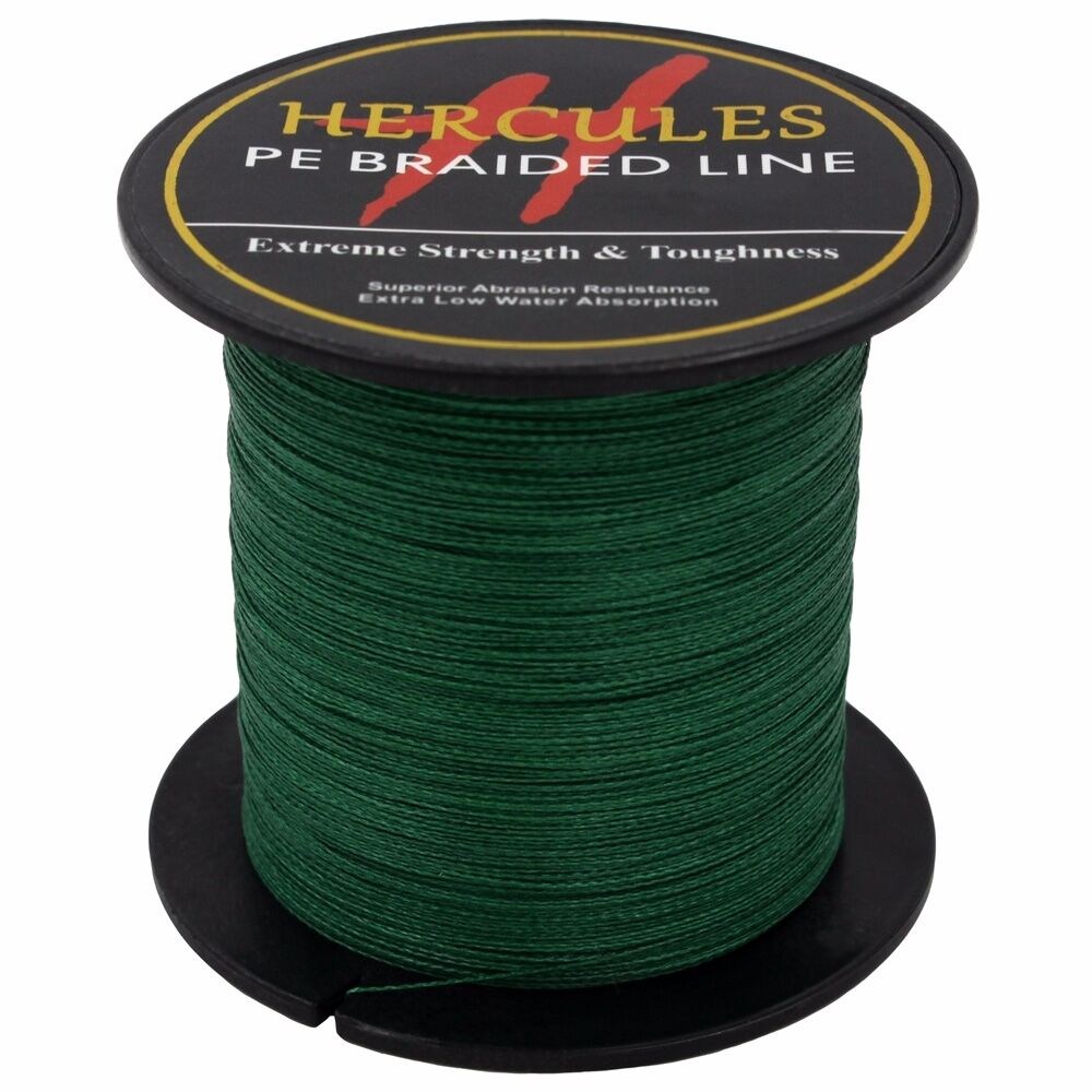 Hercules-6lb-8lb-100-PE-Strong-Braid-Fishing-Line-SuperPower-Extreme-4-Strands thumbnail 83