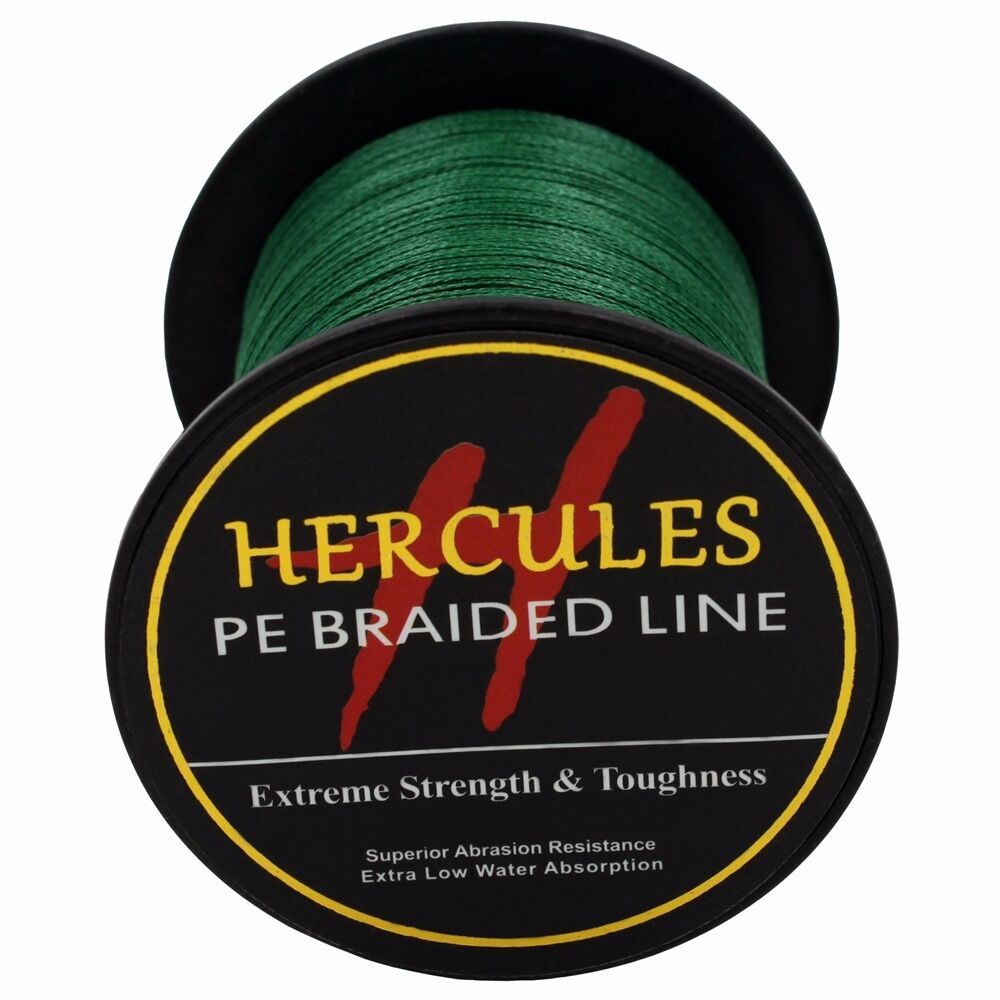 Hercules-6lb-8lb-100-PE-Strong-Braid-Fishing-Line-SuperPower-Extreme-4-Strands thumbnail 84