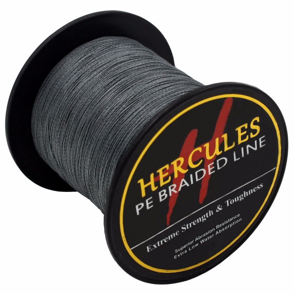 Hercules-6lb-8lb-100-PE-Strong-Braid-Fishing-Line-SuperPower-Extreme-4-Strands thumbnail 73