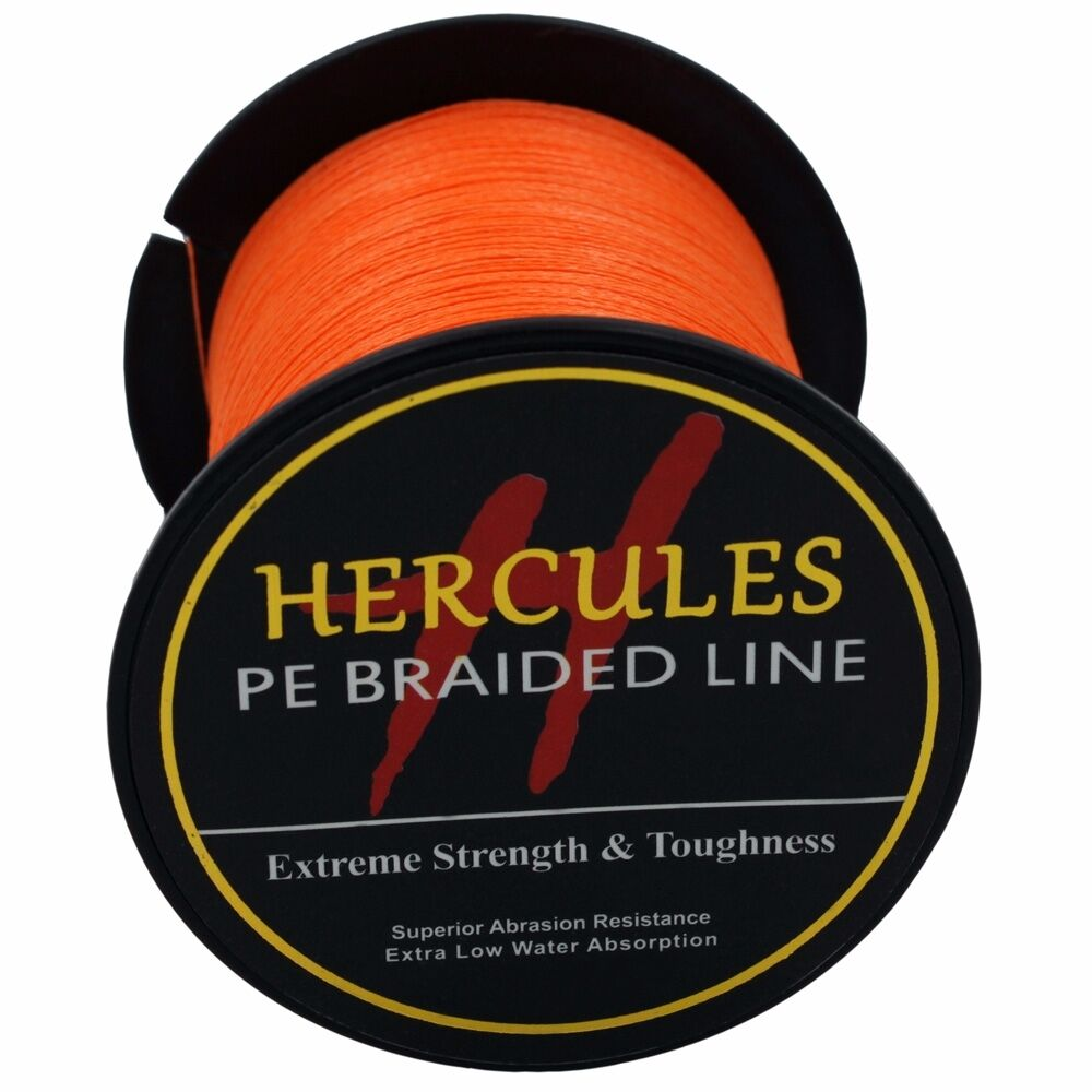 Hercules-6lb-8lb-100-PE-Strong-Braid-Fishing-Line-SuperPower-Extreme-4-Strands thumbnail 100