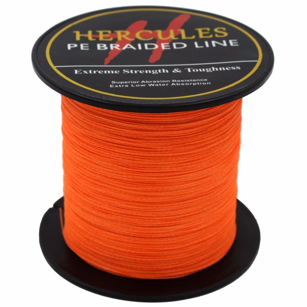 Hercules-6lb-8lb-100-PE-Strong-Braid-Fishing-Line-SuperPower-Extreme-4-Strands thumbnail 107