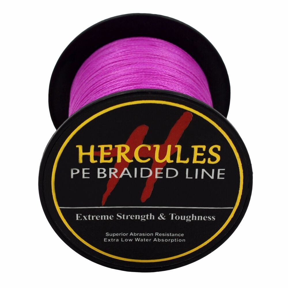 Hercules-6lb-8lb-100-PE-Strong-Braid-Fishing-Line-SuperPower-Extreme-4-Strands thumbnail 112