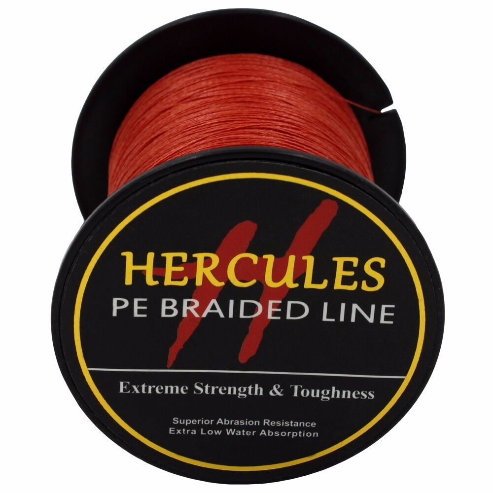 Hercules-6lb-8lb-100-PE-Strong-Braid-Fishing-Line-SuperPower-Extreme-4-Strands thumbnail 124