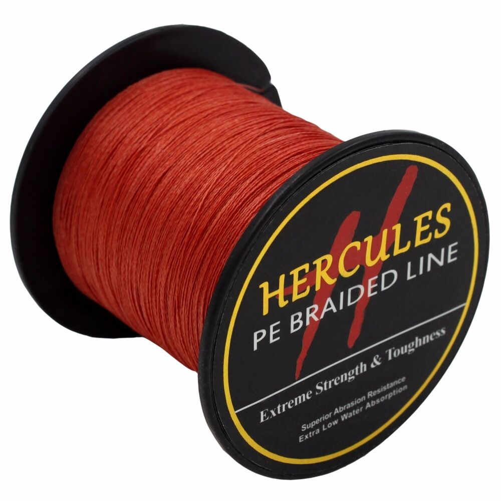 Hercules-6lb-8lb-100-PE-Strong-Braid-Fishing-Line-SuperPower-Extreme-4-Strands thumbnail 133