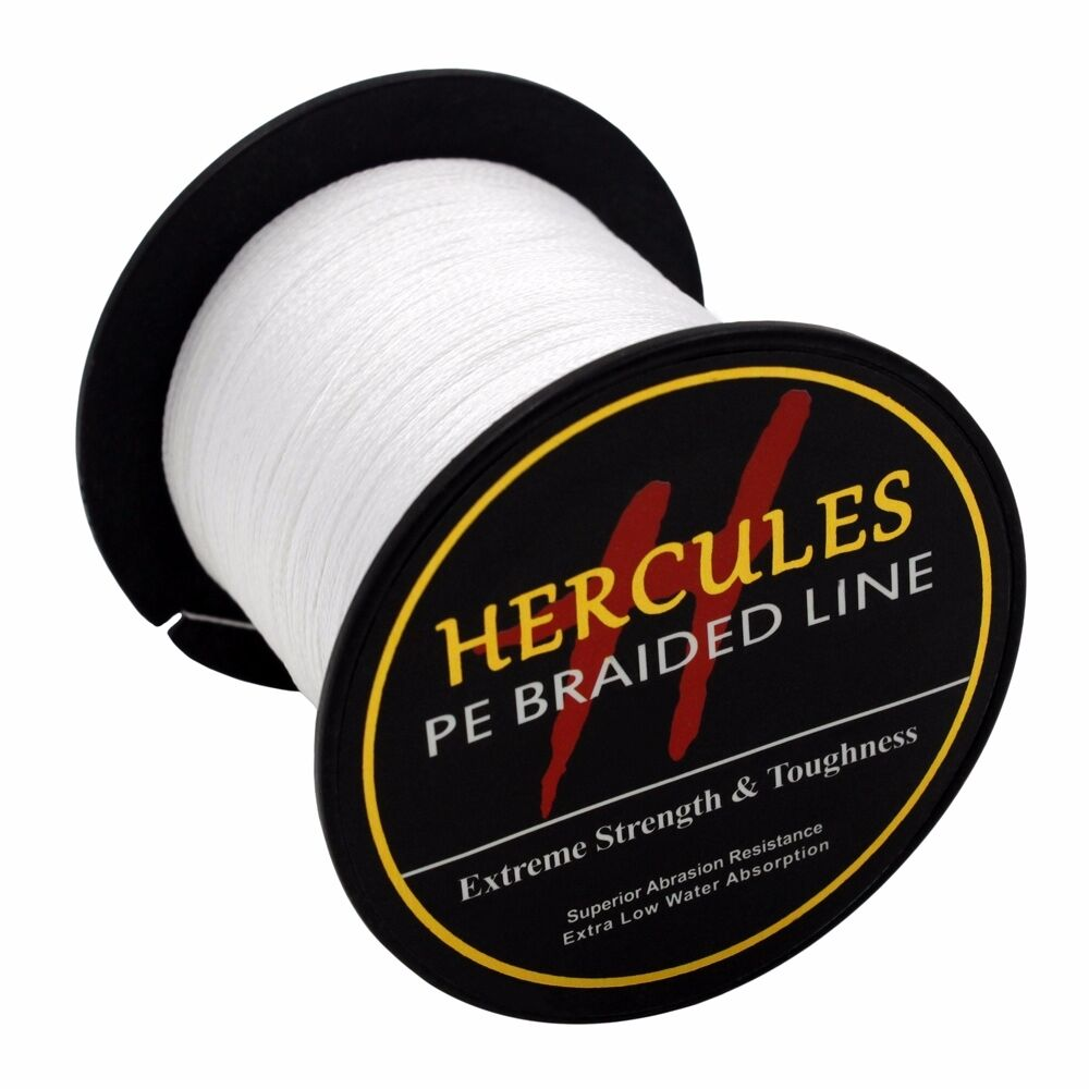 Hercules-6lb-8lb-100-PE-Strong-Braid-Fishing-Line-SuperPower-Extreme-4-Strands thumbnail 137