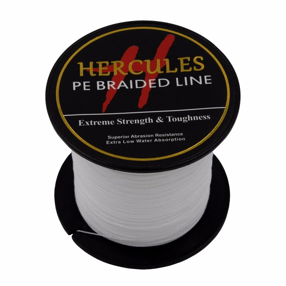 Hercules-6lb-8lb-100-PE-Strong-Braid-Fishing-Line-SuperPower-Extreme-4-Strands thumbnail 142