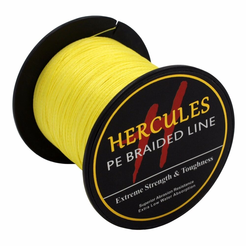 Hercules-6lb-8lb-100-PE-Strong-Braid-Fishing-Line-SuperPower-Extreme-4-Strands thumbnail 157