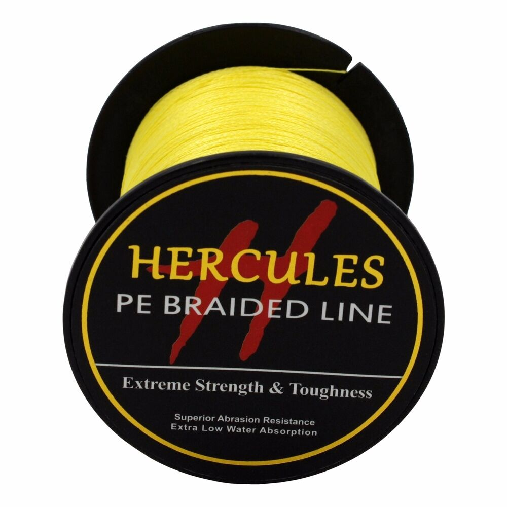 Hercules-6lb-8lb-100-PE-Strong-Braid-Fishing-Line-SuperPower-Extreme-4-Strands thumbnail 156