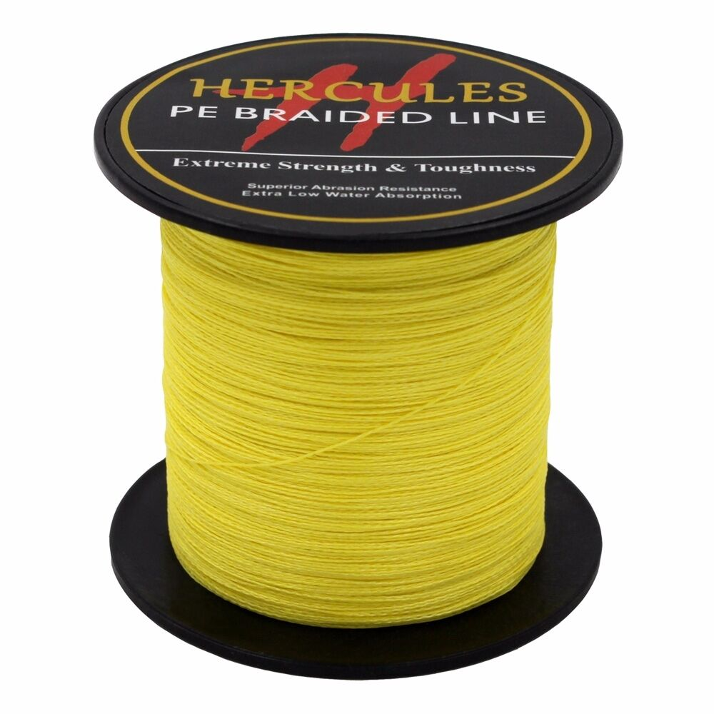 Hercules-6lb-8lb-100-PE-Strong-Braid-Fishing-Line-SuperPower-Extreme-4-Strands thumbnail 147